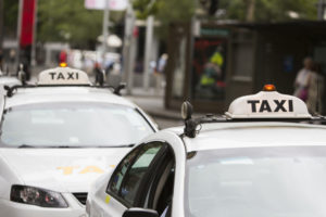 Motor Vehicle Accident Taxi