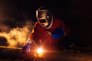 Injured Steelworker
