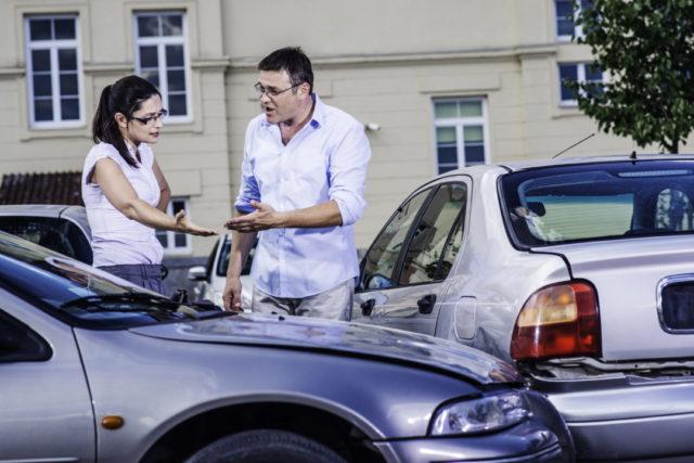 Motor Vehicle Accident - he said she said