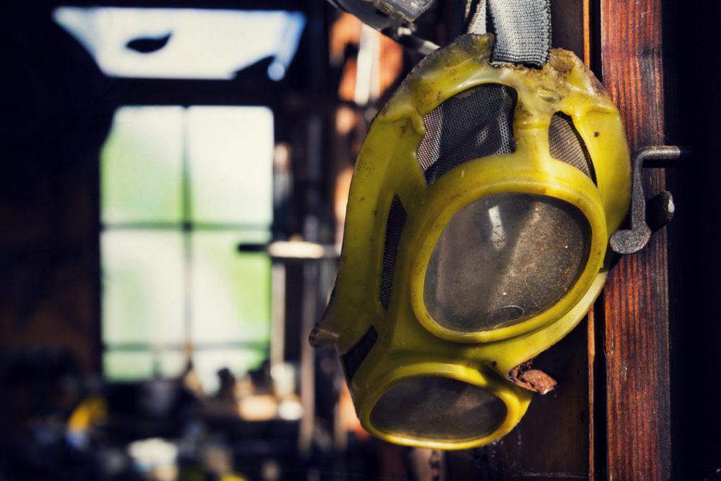 Work injury safety glasses