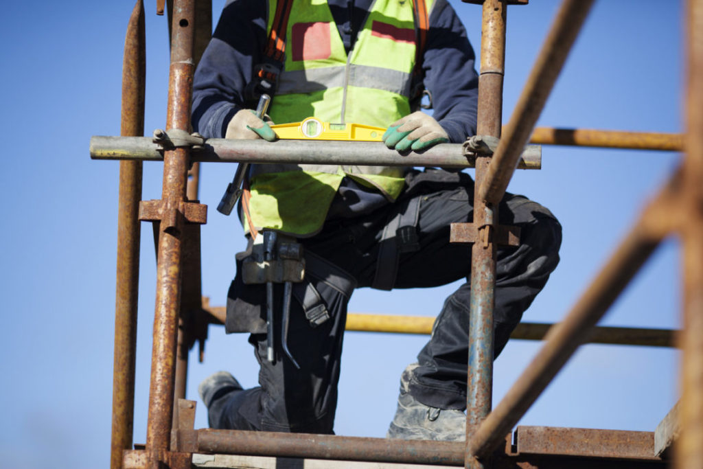 Fall from Scaffold – Worker Receives Large Payout