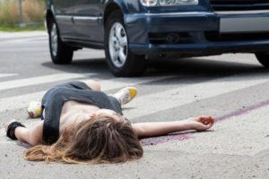 Pedestrian injured in hit-run