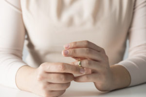 Woman Getting Divorced